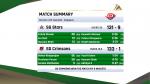 SG Stars vs SG Crimsons